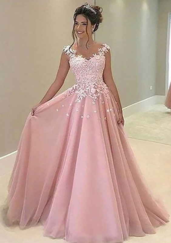 dc811241c8a ... Evening Dresses · Mother of the Bride Dresses · Testimonials. Home · Prom  Dresses  S10232390P. Color  Blushing Pink
